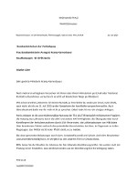 Brief an AKK